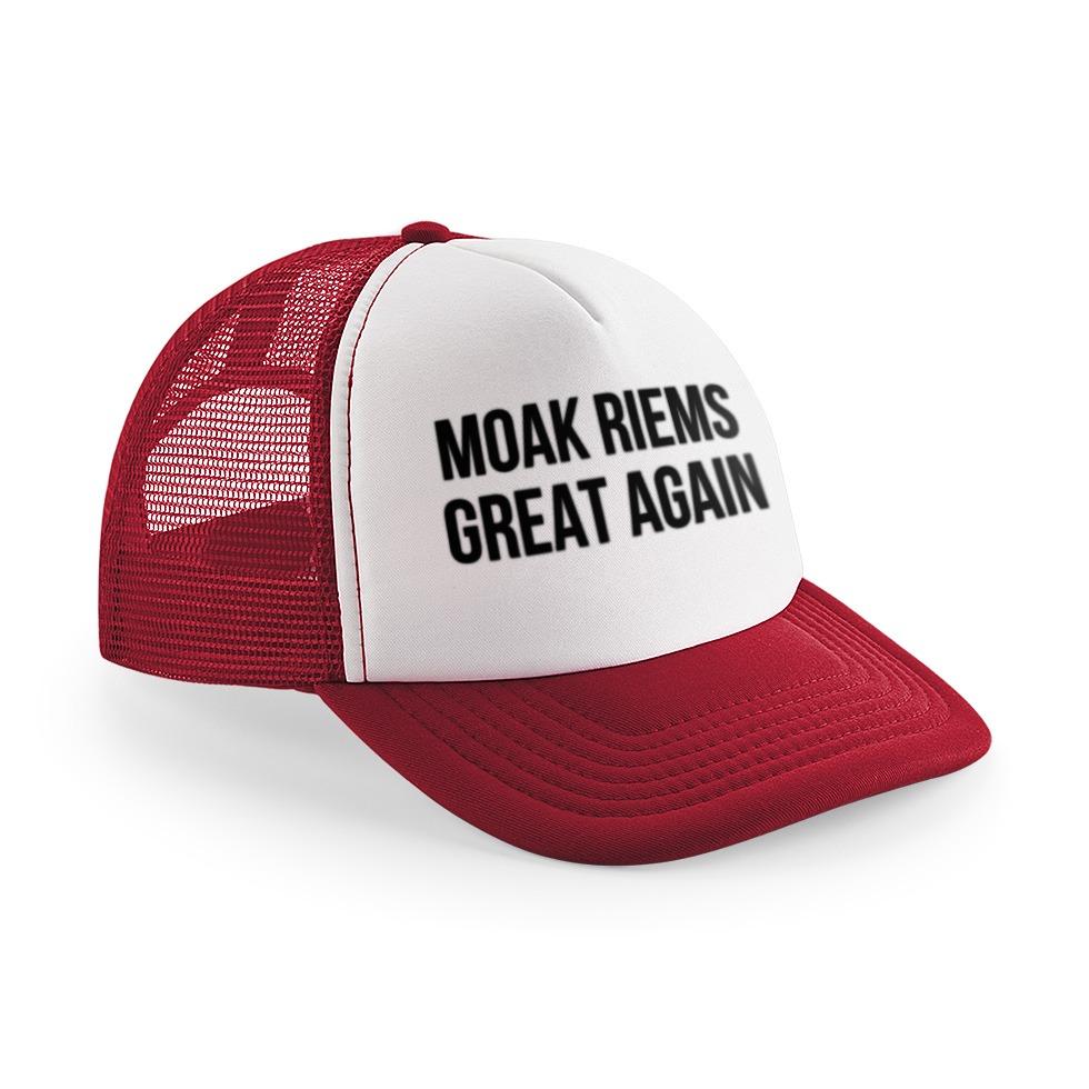 shop webshop webwinkel dialect shirts van riemst unieke petten moak riems great again trucker pet cap mcsnooze custom shirt